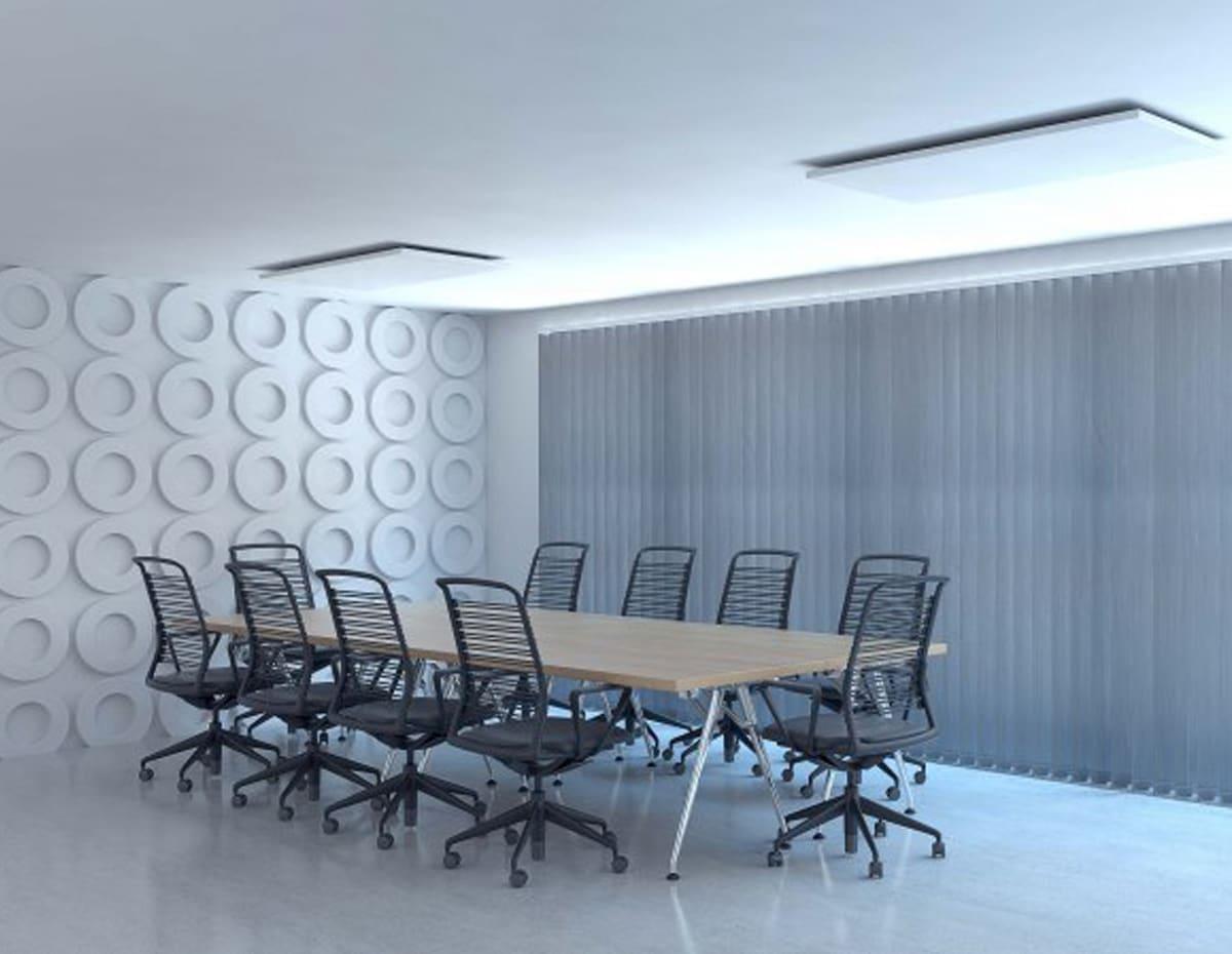 pannelli radianti elettrici per uffici