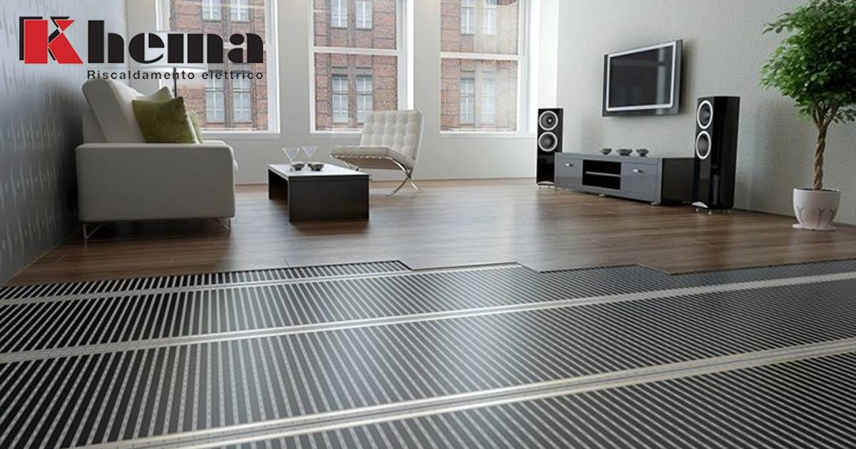 film scaldanti a pavimento elettrici