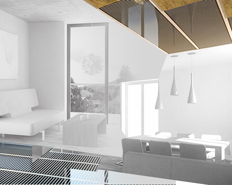 Guida ai sistema di riscaldamento per pavimenti flottanti per interni con ECOFILM